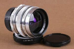 ⭐ Grand Prix Brussels ⭐ Mir 1 37mm f2.8 for Zenit, SLR, M39 + Adapter Micro 4/3