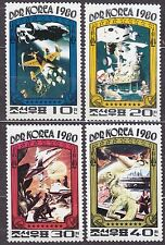 KOREA Pn. 1980 MNH** SC#1949/52 set, Conquerors of the Universe.