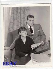 Dorothy Parker w/husband Alan Campbell VINTAGE Photo
