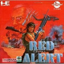 RED ALERT PC-Engine CD PCE Import JAPAN Video Game