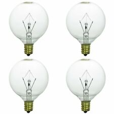 Scentsy Warmer (4) Pack, Bulbs Light Candle Wax Warmers Warm Bulb Scent 25W 120V