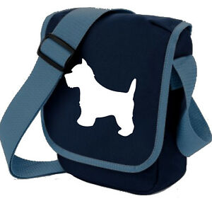 West Highland White Dog Walkers Shoulder Bags Birthday Gift Xmas Westie Gift