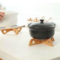 Detachable Bamboo Placemat Heat Resistant Pot Mat Holder Kitchen Placemats