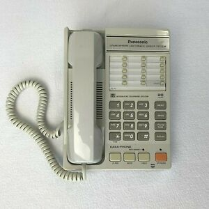Used Vintage Panasonic KX-T2355 EASA-PHONE Integrated Telephone Tested Works
