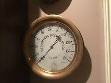 "12"" Steam Pressure Gauge Schaeffer & Budenberg"