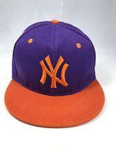 NEW YORK (NY) SNAPBACK BLACK BASEBALL CAP