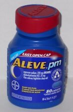Aleve PM Tablets 80ct Tablets EZ Open -Expiration Date 10-2019-