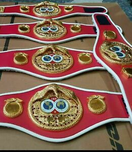 2021 Brand New IBF Boxing Championship Replica Belt Small Custom Size Available