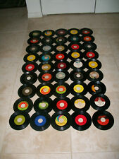 Vintage 50's-60's+ ROCK POP 45 RPM COLLECTION Lot Of 45 Records Beatles Led Zep