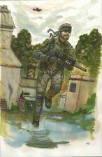 Naked Snake Big Boss Metal Gear PS3 by Gabo Original Art Commission Sketch 11x17