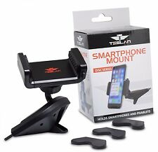 Teslan Disc Cradle Series CD Car Mount Phone Holder for iPhone and Android