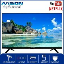 Avision 32 Inch Frameless HD Ready Smart Digital Led TV with Built-in Netflix...
