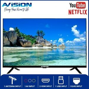 Avision 32 Inch Frameless HD Ready Smart Digital Led TV with Built-in Netflix...