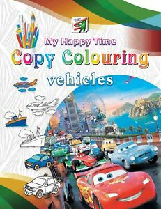 Copy Colouring Vehicles
