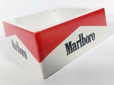 Marlboro Vintage Aschenbecher - Quadratisch - 10cm x 10cm - Kunststoff - Sammler