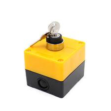 Schlüsselschalter AC 400V 10A 2 Positionen Kein Kontakt Dreh Schalter mit 2 Schl