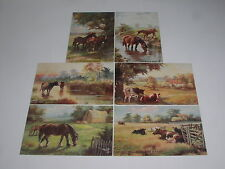 Harry Payne Animals Collectable Artist Signed Postcards