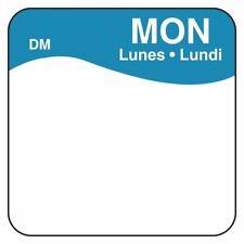"Day Dot 1"" Dissolvable 7 Rolls (Monday-Sunday) Of 500 Per Roll Cmc Daymark"