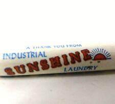 Vintage Advertising Ballpoint Pen - Industrial Sunshine Laundry           BZZ011