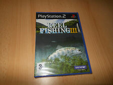REEL FISHING 3 -  NEW FACTORY SEALED -Sony Playstation 2 pal version