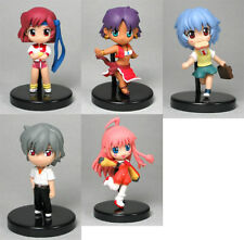 GAINAX TORI-COLLE  Anime / Manga   GASHAPON / TRADING MINI FIGURE  SET NEU  2007