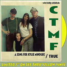 "CTMF - A Song For Kylie Minogue - (limited yellow vinyl 7"") *BILLY CHILDISH*"