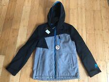 New ZeroXposur Boys Mid-Weight Fleece-Lined Jacket - Size L - 14/16