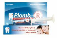 PLOMB-R tymczasowa plomba do zęba wypełnienie 3 g Temporary seal the tooth