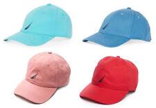 NAUTICA MEN'S SIX PANEL J FCA BASEBALL CAP HAT ONE SIZE RED GREEN BLUE NEW NWT