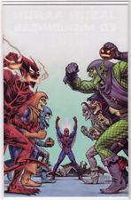 THE AMAZING SPIDER-MAN #799 Linsner VIRGIN Variant Red Goblin X-Men 100 Homage