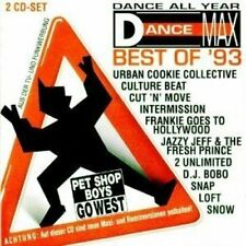 Dance Max-Best of 93 Culture Beat, DJ Bobo, Snow, Captain Hollywood, 2 .. [2 CD]