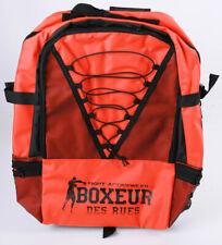 BOXEUR DES RUES Sportrucksack Orange/Schwarz 50 x 42 x 5 cm