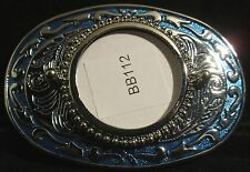 """""""BB112"""" DECORATIVE WESTERN STYLE BELT BUCKLE MADE IN U.S.A. WITH FREE SHIPPING!!"""