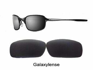 Galaxy Replacement Lenses For Oakley Square Wire 2.0 Sunglasses Black Polarized