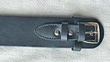 Leather Holster Belt Black Smooth Brand New Holster Belt Made in Mexico 70113