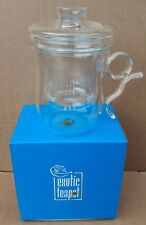 Glass Tea Pot from The Exotic Teapot Company with Strainer (Brand New in Box)
