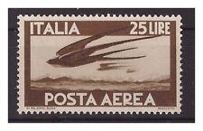 POSTA AEREA DEMOCRATICA  1947  - LIRE 25  NUOVO **