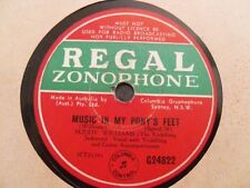 Buddy Williams 78RPM Record Music In My Pony's Feet / Where The Roly Poly Grass