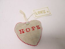 PACK OF 5 - Christmas Hanging Tree Room Door Lavender Heart Pillows Hope #4F11