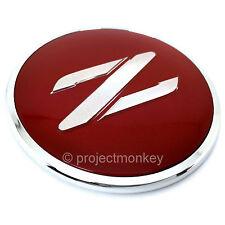 JDM Nissan 90-96 300ZX Fairlady Z Z32 Red & Silver Z Emblem Badge Genuine OEM