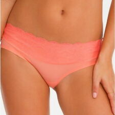 Spanx Fp2215 Undie Tectable Microfiber Lace Waist Hipster Panty Coral V.Sizes