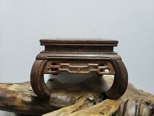 Chinese Hand Carved Wood Antique Stand Antique Shelf