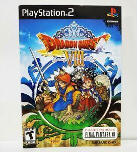 Dragon Quest VIII 8 Sony Playstation 2 PS2 Sleeve Artwork Insert