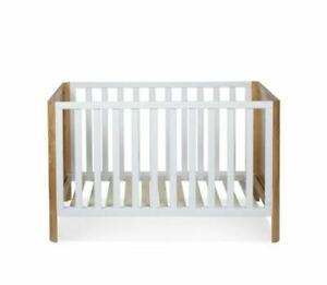 Bondi Cot for girl or boy, Crib Baby Bed  NZ Pine, White NEW Affordable now