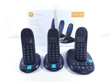 Motorola DECT 6.0 Cordless Phone with Answering Machine - c1013LX - 3 Handsets
