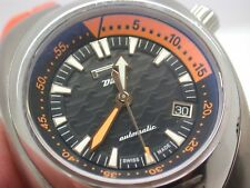 Gently Used 41mm Pirelli Automatic Dive Watch 300m ETA 2824-2 Watch Zero Tempo