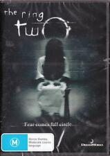 THE RING TWO - ALL TIME CLASSIC  - NEW & SEALED REGION 4 DVD - FREE LOCAL POST