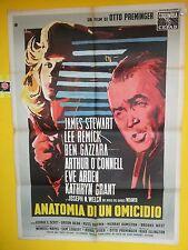 M 242 MANIFESTO 2F  ANATOMIA DI UN OMICIDIO ( ANATOMY OF A MURDER), 1959