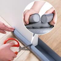 1* Flexible Door Bottom Sealing Strip Guard Sealer Stopper Wind Dust Blocker DIY