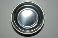 "Magnetic Tray Round Dish bowl Organizer Stainless Steel Holder Organizer 3"" new"